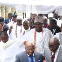 the ooni and his entourage at st antonys college