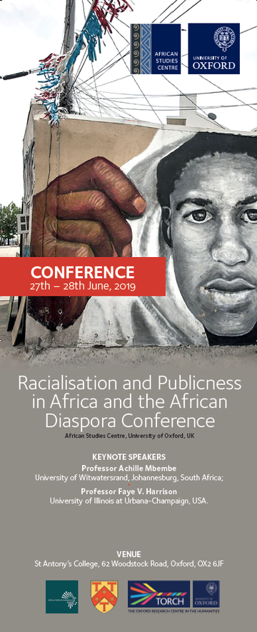 racialisation conference banner
