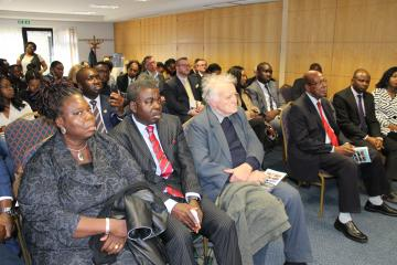 the audience listening to aare babalolas lecture