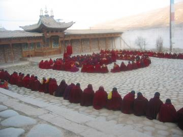 kensang drolmas monastery ceremony and wonlok