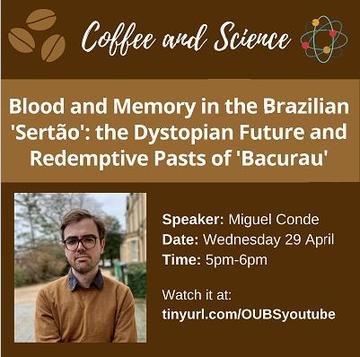 poster coffee and science miguel conde