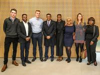 president faure and msc african studies and other students